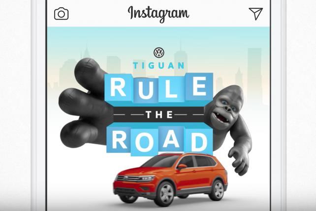 'Gorilla' Marketing: VW Brings Its King Kong Ad to an Instagram Scavenger Hunt