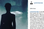 Read Justin Timberlake's Perfect Tribute to Prince