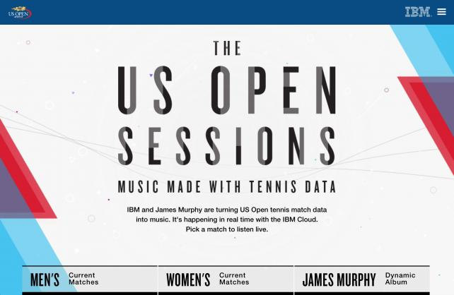 IBM Turns Tennis Data into Music at the U.S. Open
