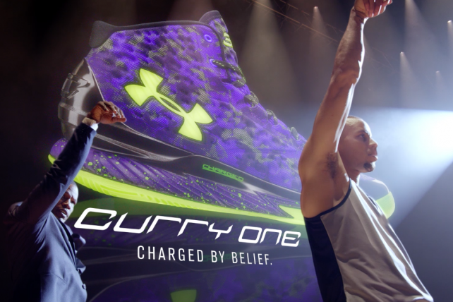 Jamie Foxx, Steph Curry Star In Under Armour Campaign