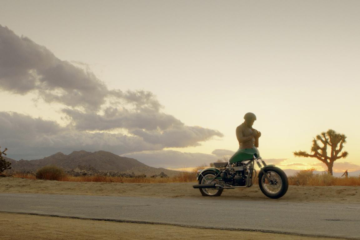 Part man, part motorcycle, all Boy George fan.