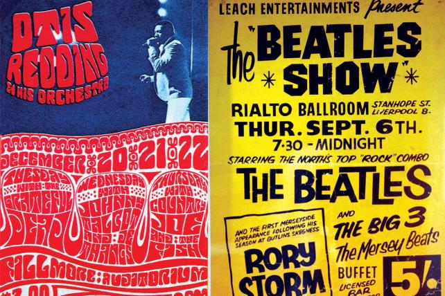 Signs of the times: 12 classic music posters
