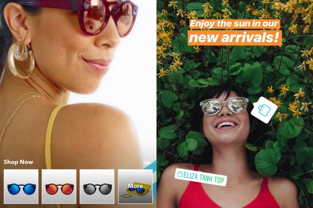 How Snapchat and Instagram are trying to out-shop each other