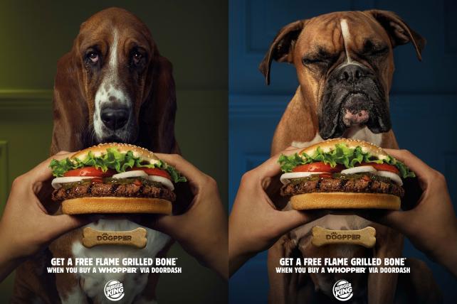 Burger King gets into the dog bone biz