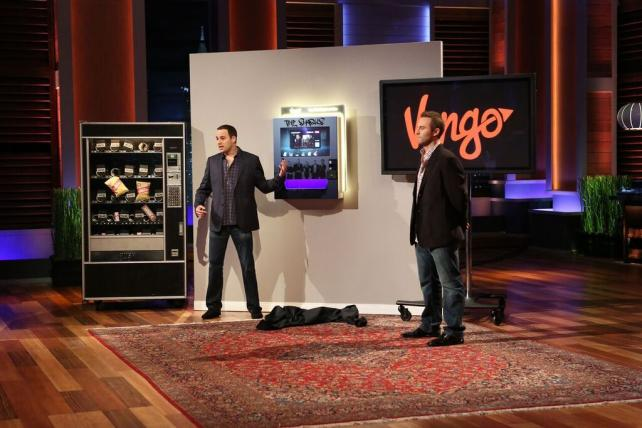 Vengo, a Vending Machine With an Ad Network, Secures $2M Deal on 'Shark Tank'