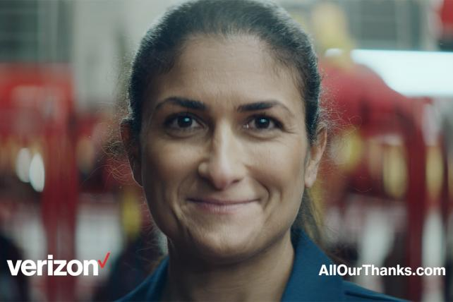 Verizon Highlights First Responders In Super Bowl Spot