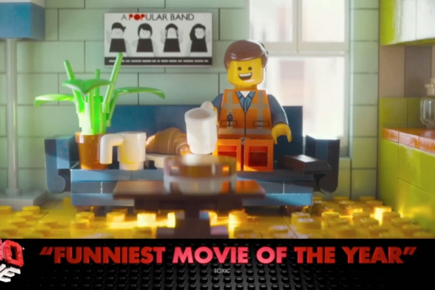 In The U K The Lego Movie Teams With Itv To Recreate Entire Ad Break In Lego Ad Age