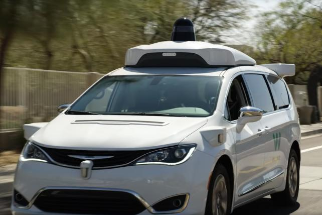 Waymo will launch first commercial robotaxi service in U.S.