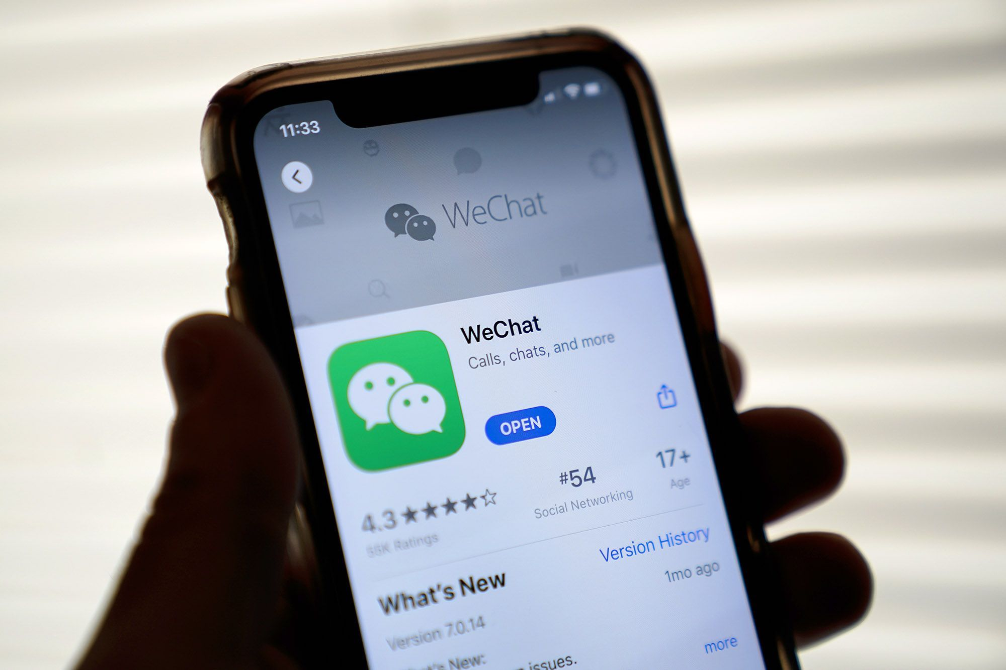 Trump's WeChat prohibition in U.S. put on hold by judge