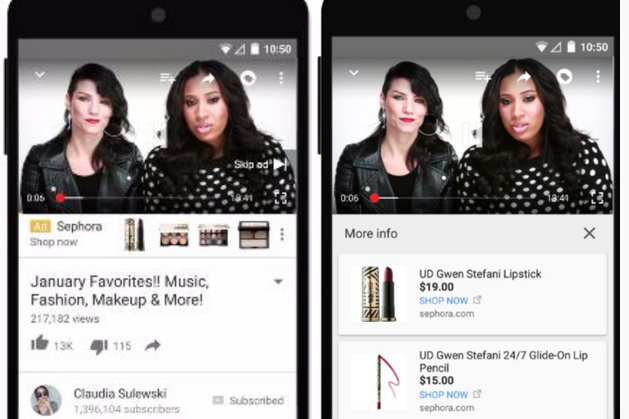 YouTube Expands, Tweaks TrueView Video Ads