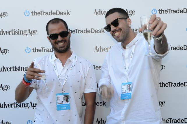 Cannes Slideshow: Ad Age's Young Creatives Cover Competition Cocktails