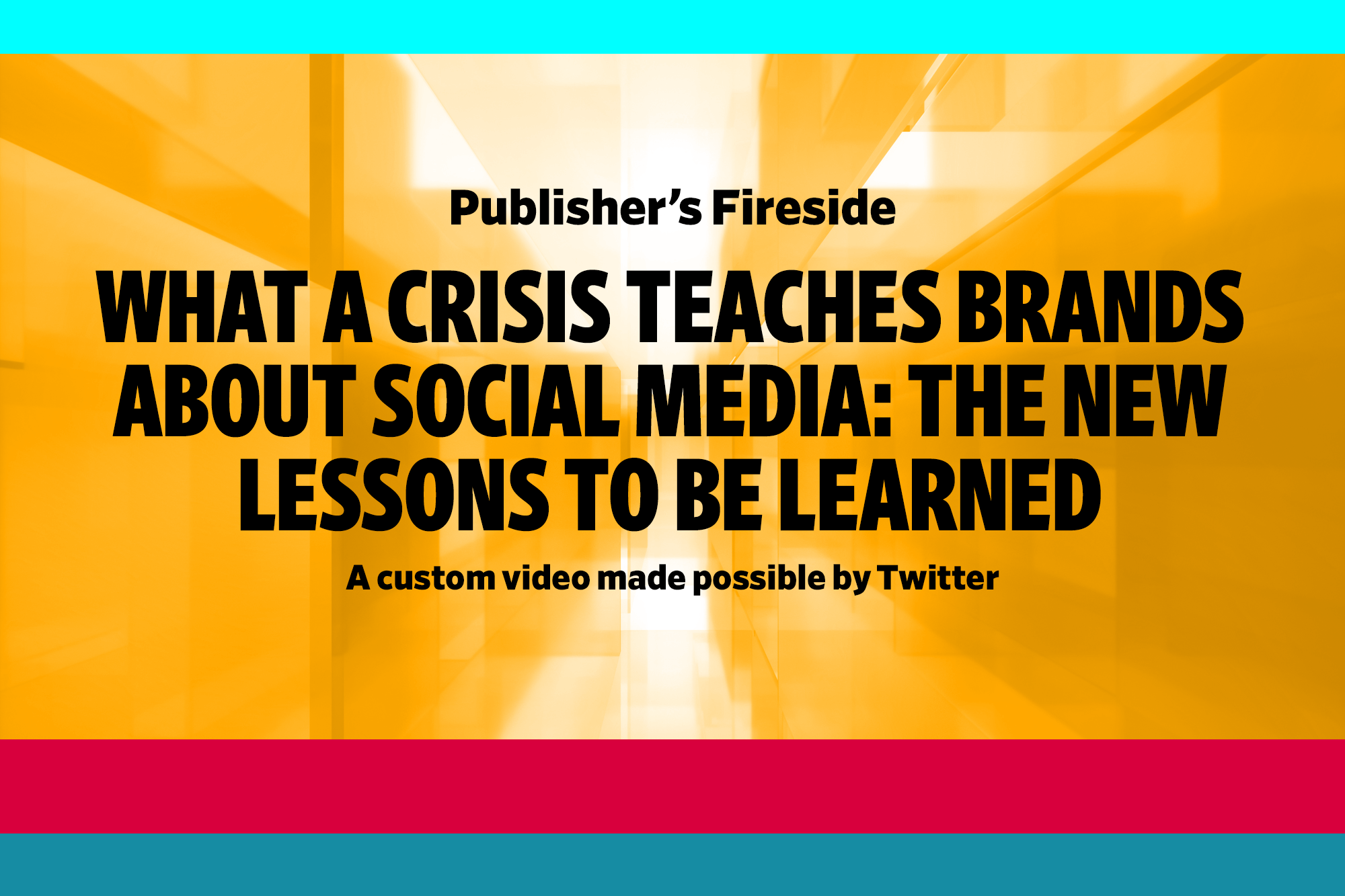 What a crisis teaches brands about social media: The new lessons to be learned