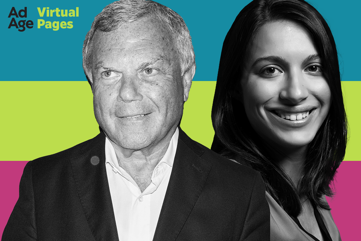 Martin Sorrell on weathering the global crisis: Ad Age Virtual Pages