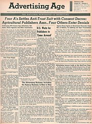Advertising Age 02-06-1956