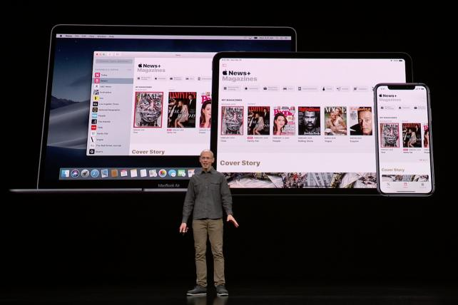 Apple reveals a news service and shows its ambivalence to ads
