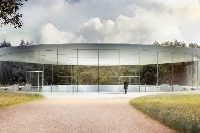 See the Video: Apple's New Spaceship-y Campus to Finally Open in April