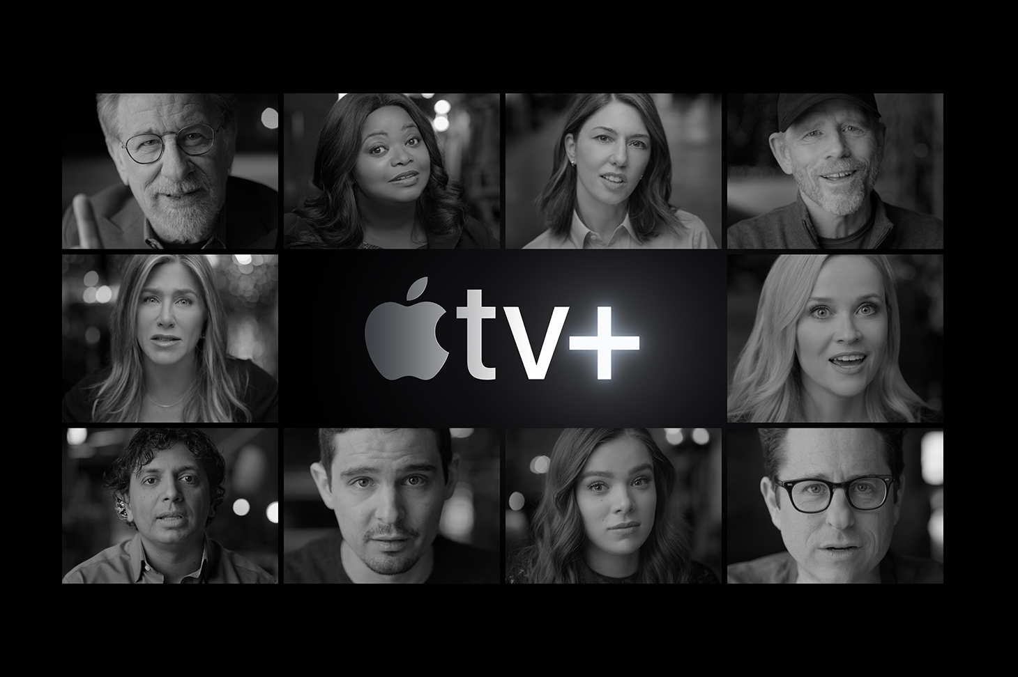 Steven Spielberg, JJ Abrams, Sofia Coppola, Ron Howard hype debut of Apple TV+