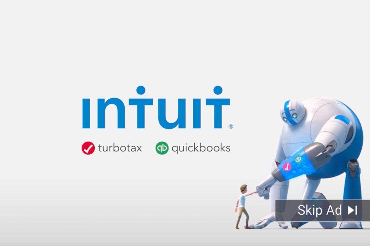 Intuit - Giant Skip Ad