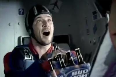 Bud Light - Skydiver