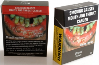 Australia Is First Country to Require Plain, Logo-Free Cigarette Packaging