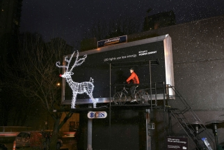 Power Smart LED Live Powered Billboard