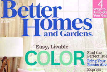Meredith, Publisher of Better Homes and Gardens, Lays Off 60