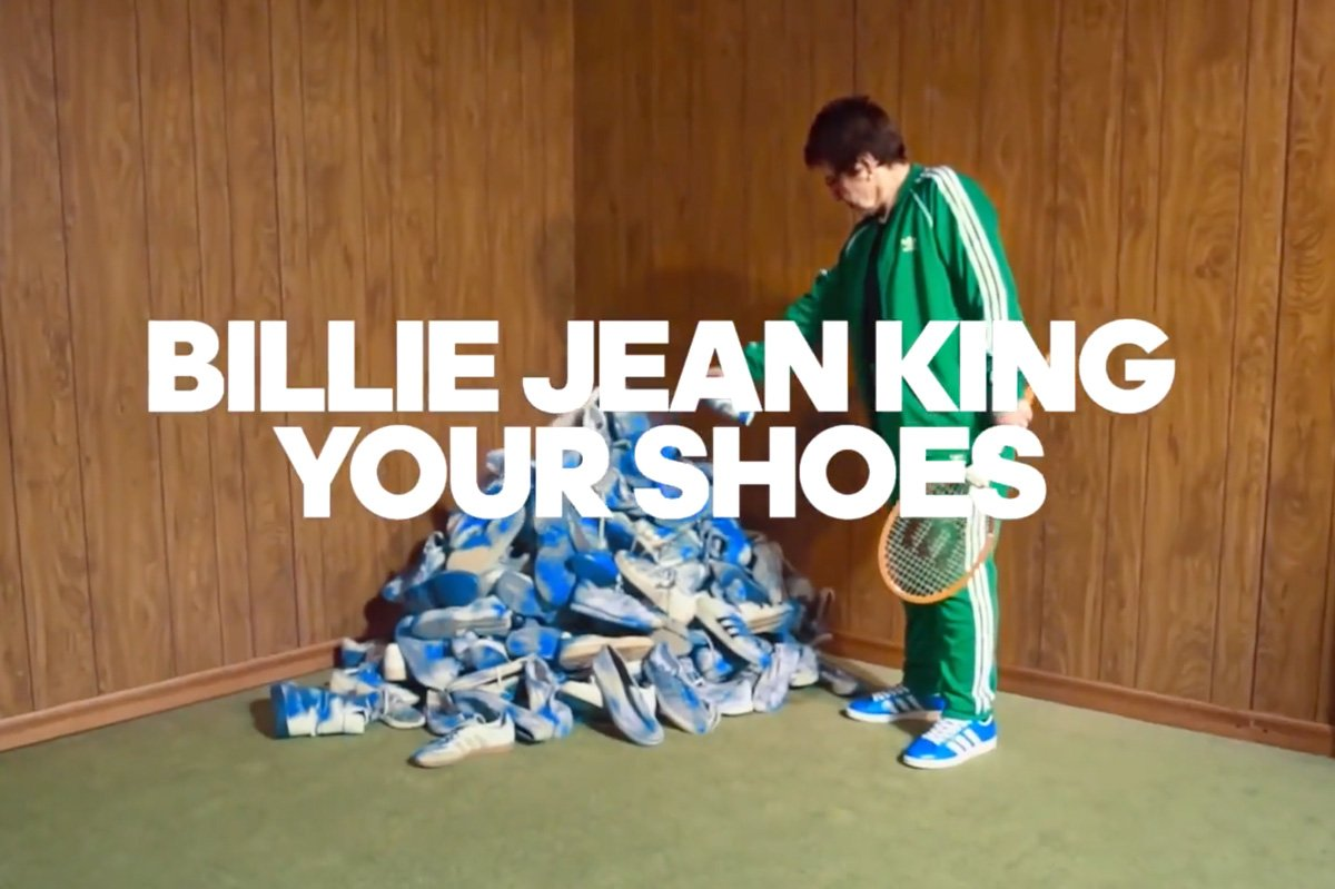 "TBWA/Chiat/Day N.Y. on how Adidas Billie Jean King'd a whole lot of shoes for the ""Here to Create Change"" campaign"