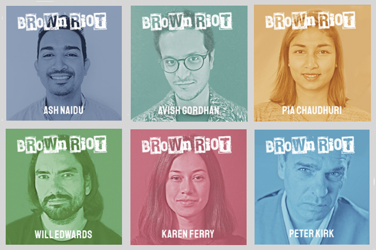 """Ant Melder's """"Brown Riot"""" podcast digs into the lives of advertising leaders who aren't white men"""