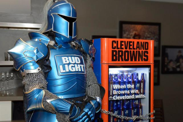Bud Light unlocks free beer fridges as Cleveland Browns win