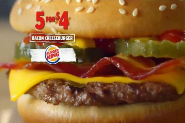 Sneakers or Burgers in the New Year? It's Last Night's Ads
