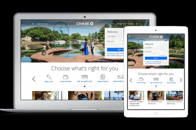 Chase Relaunches Website With Focus on Branded Content, Simplicity