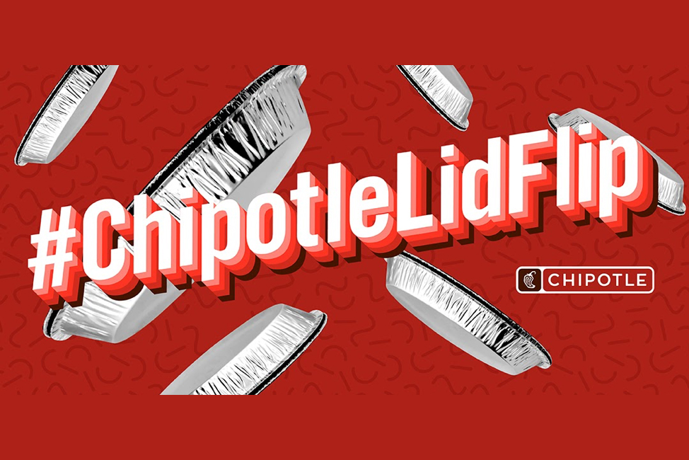 Chipotle Mexican Grill: The Lid Flip Challenge