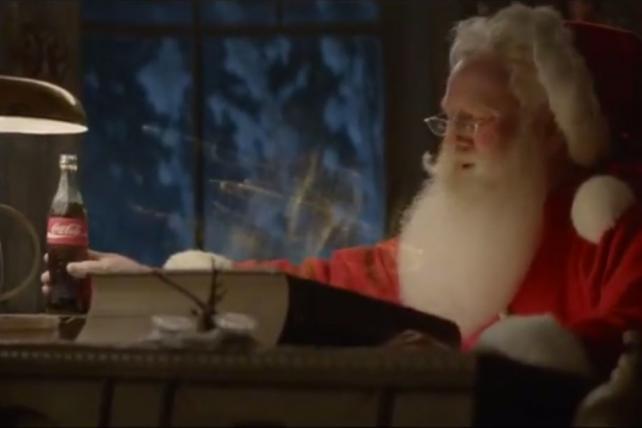 Santa Subs for Polar Bears in Coke's Holiday TV Ad