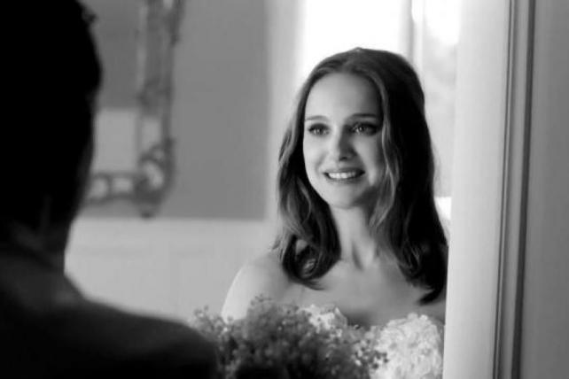 Natalie Portman Is a Runaway Bride in Dior's New Spot