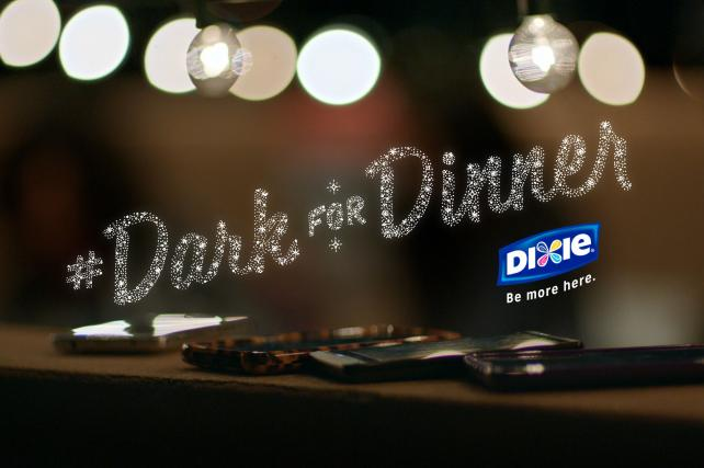 Dixie Asks People to Turn Off Their Phones for Dinner
