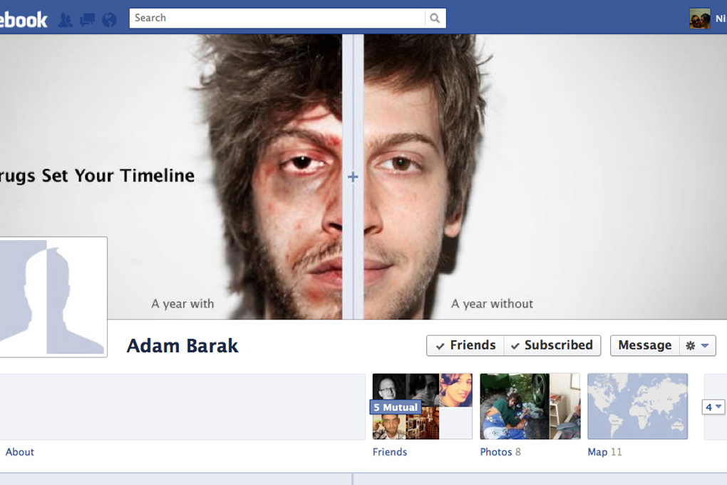 THIS IS YOUR FACEBOOK TIMELINE ON DRUGS