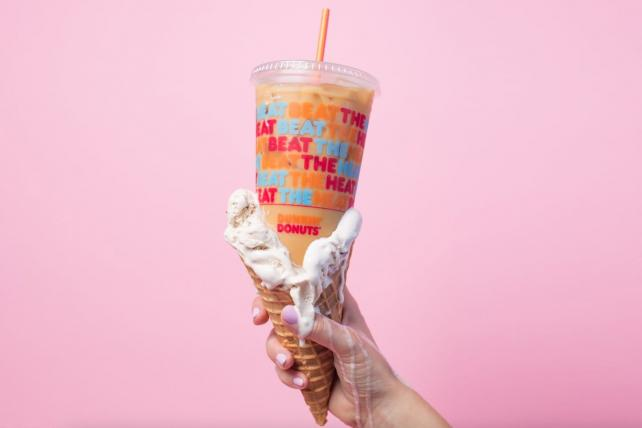 Dunkin' Donuts gets a brand update