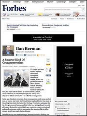 Forbes sponsored blog