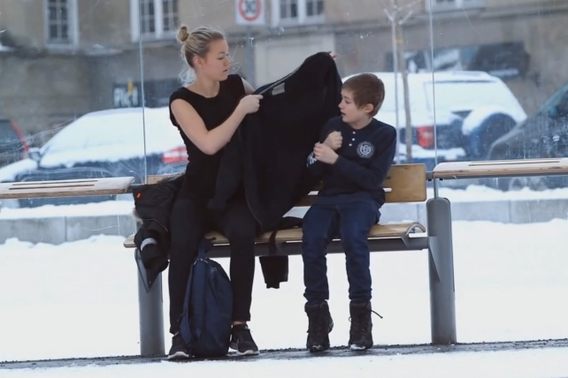 Viral Ad Campaign Asks: 'Would You Help a Freezing Child?'