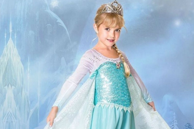 Stores Sell Out of 'Frozen' Princess Elsa Dress