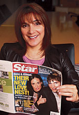 NEW QUEEN OF TABLOID PUBLISHING TELLS ALL