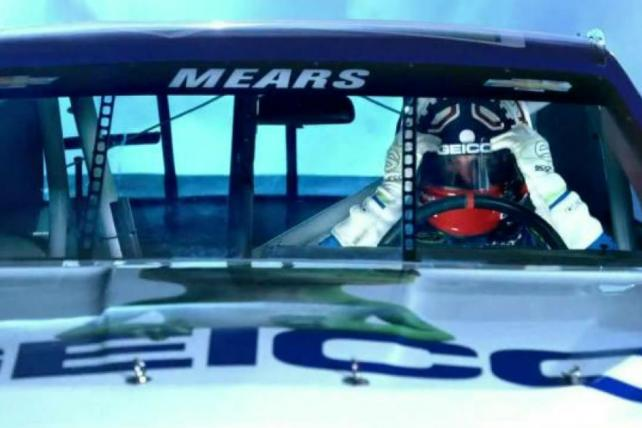Geico Knows You're Not Race Car Driver Casey Mears
