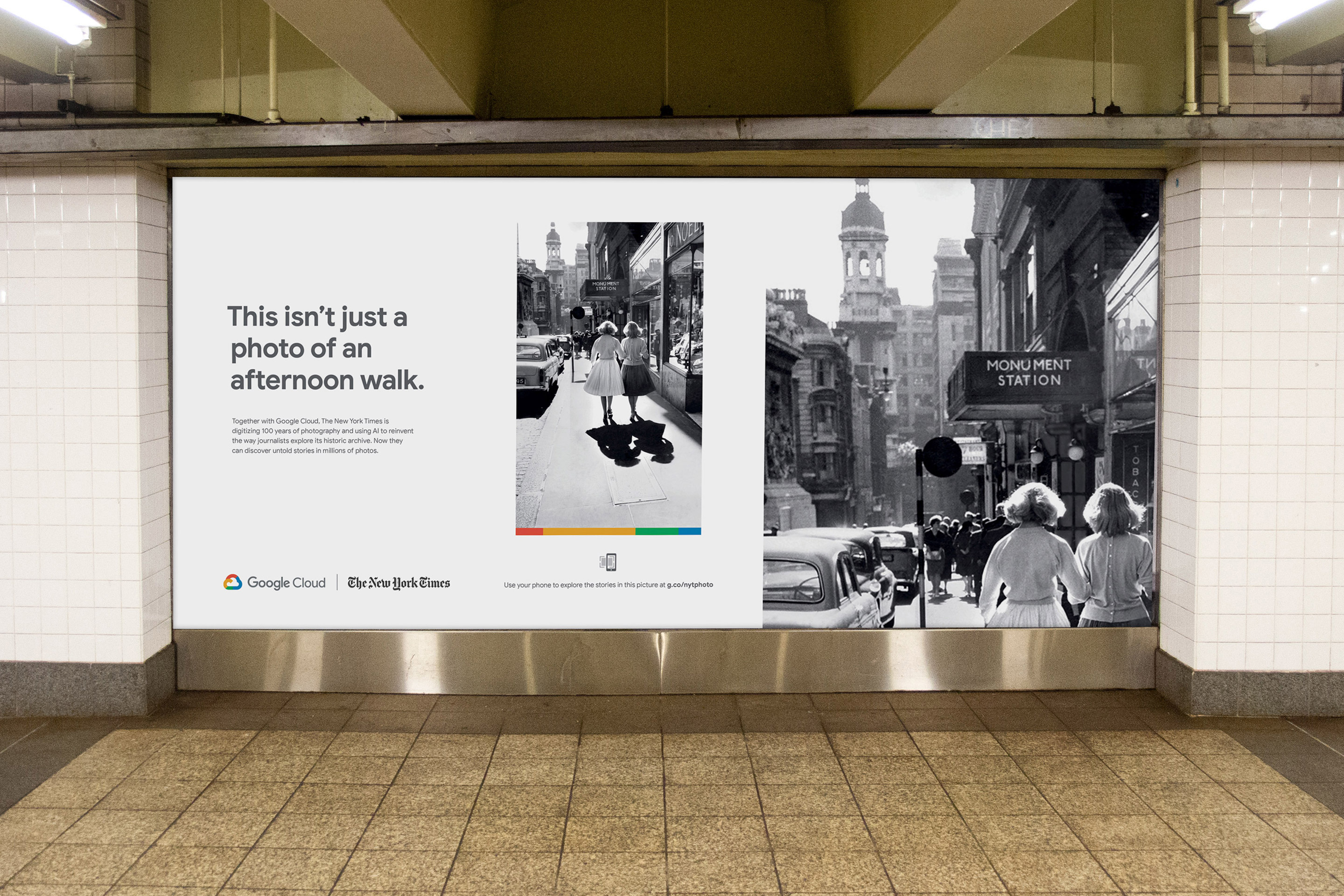 Google Cloud doubles down on its New York Times campaign | AdAge