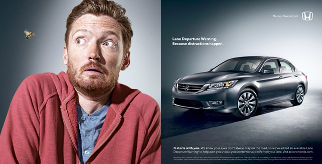 Difficulties While Driving? You're Only Human, Says New Honda Campaign