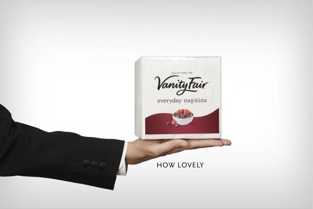 Is Your Paper Napkin Stuck Up? Vanity Fair Says It Isn't So