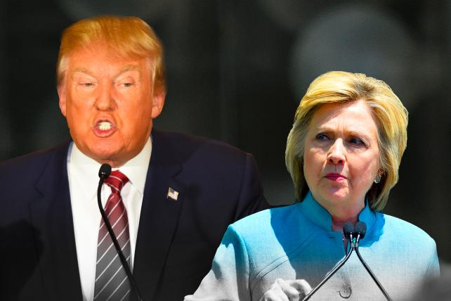 Should Donald Trump Go After Hillary Clinton's Weird Hair, Orange Skin and Tiny Hands?