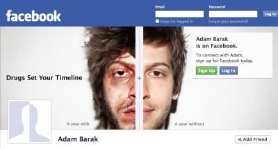 Israel Anti-Drugs Authority: Facebook Timeline