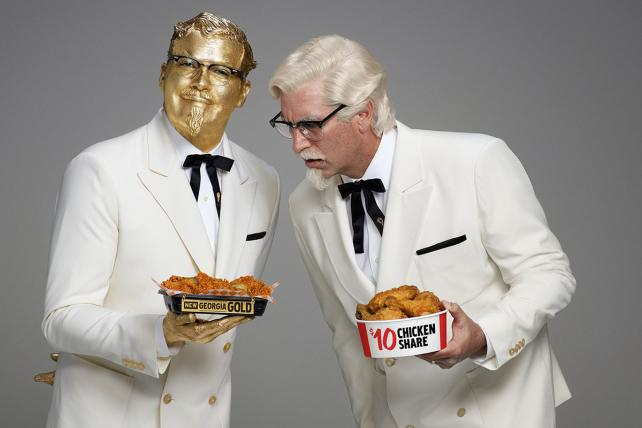 KFC Has Two Colonels in Its First Super Bowl Commercial -- Watch It Here