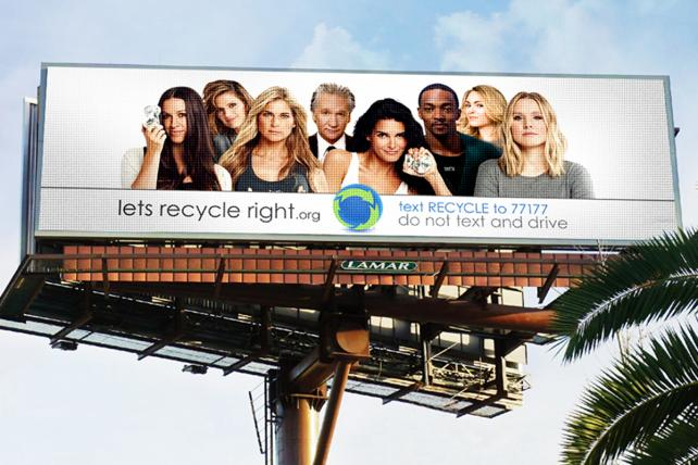 Lowdown: Live-Streamed Earth Day PSA Coming to Billboards
