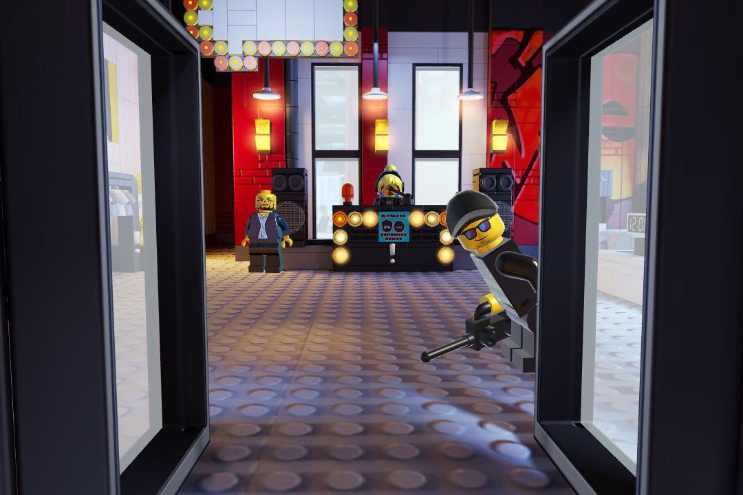 Lego's pop-up fashion boutique contains nothing but a Snapchat code